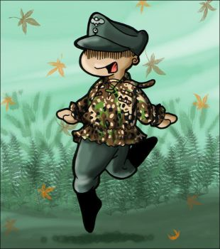 Camo Smock by MauserGirl