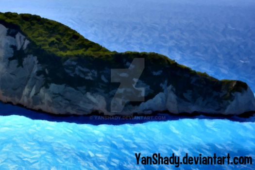 Island and Sea by YanShady