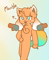 Marble the Kittydog by SweetflameofMC