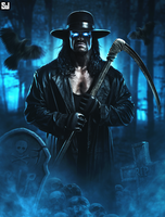 The Undertaker - My Yard by Sjstyles316