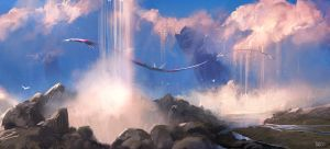 CloudFalls by erenarik