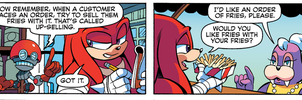 god damn it Knuckles XD by thegreatrouge