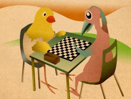 situational scene 01 - chess by madFusion15