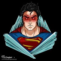 Superman (Tattoo Design) by PHATboyArt