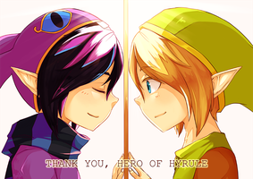 Thank you, Hero of Hyrule by Fuyusuki