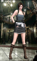 Jill Valentine(RE3) Resident Evil HD by xXKammyXx
