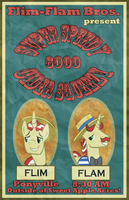 Flim Flam Brothers Poster by dragshadow97