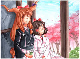 Springtime in Gensokyo by Following-The-Rabbit