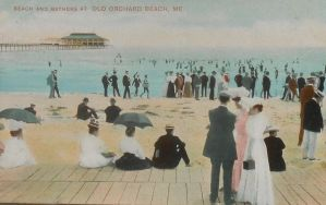 Vintage New England - Proper Beach Attire by Yesterdays-Paper