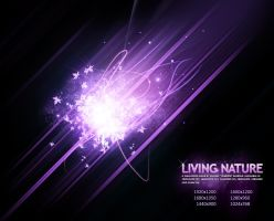 Living Nature - Purple by Cheezen