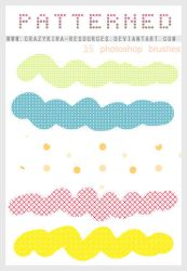 Patterned Brushes by crazykira-resources