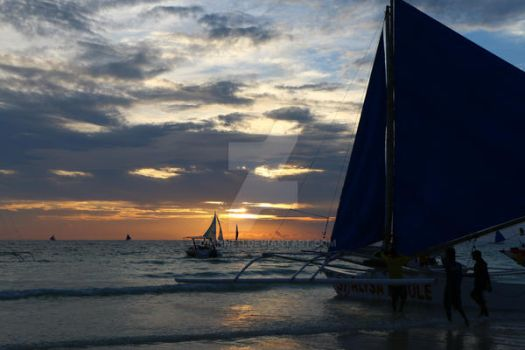 Boracay Sunset by gianne11