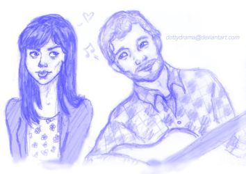Andy and April by DottyDrama