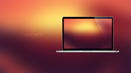 SERENITY - Coloured Expression Wallpapers by Ecstrap