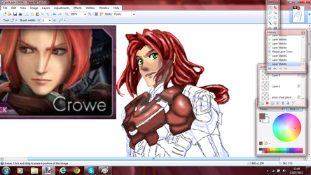 Preview of Crowe F. Almedio by AngelofPaine