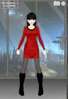 Esmelda in Star Trek TOS Style by suburbantimewaster