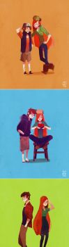 dipper x wendy by chuwenjie