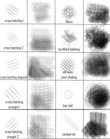 Sketchbook Pro - Cross Hatching Brush Set by AutodidactArtAcademy