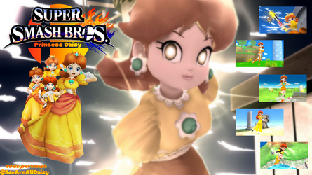 Support Daisy for Smash 2018 by DaisyPotential