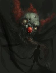 Zombie Clown by AlexRuizArt