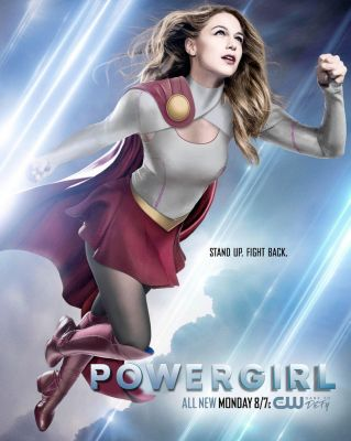 Melissa Benoist CW Power Girl by ImWithStoopid13