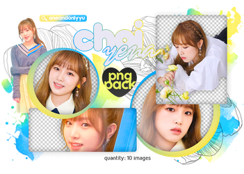 PNG PACK #12   YENA - COLOR*IZ (IZ*ONE) by oneandonlyyu