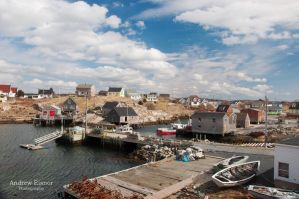Peggy's Cove by AEisnor