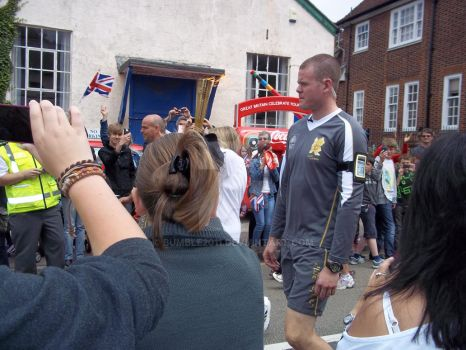 Olypic Torch in Borough Green 20 July 2012 by Bumble2011