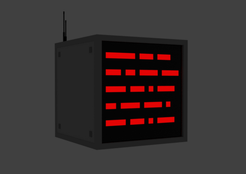 Red-Tech basic computer monitor by RedPoisonDragon