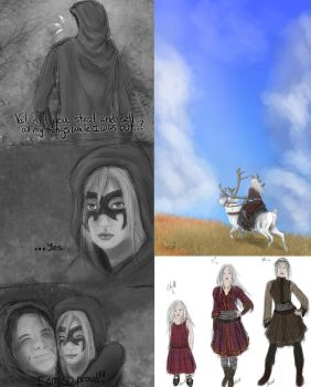 Sketch Dump-TPB and Woad by Cheyanne-Author
