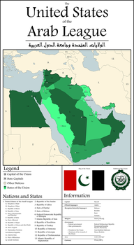 The United States of the Arab League by jbkjbk2310