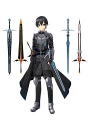 Sable Champion Kirito (Short Hair ver.) by Zander-V