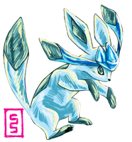Glaceon I Choose You by cerasly
