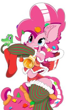 Pinkie Pie Christmas Clothes by Brony-F
