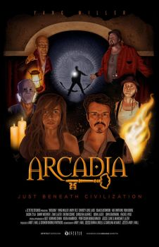 Arcadia Movie Poster by AtlantaJones