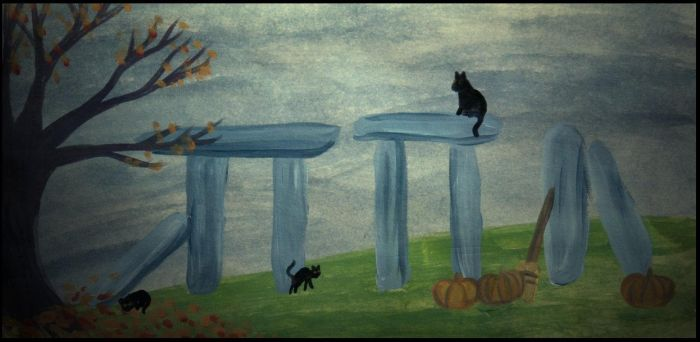 Halloween at the megaliths by irishtequilla