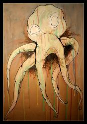Squid by the-surreal-arts