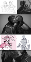League of Legends Sketchdump (February-April 2018) by MaruMun