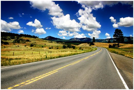 Life is an Open Road by Delacorr