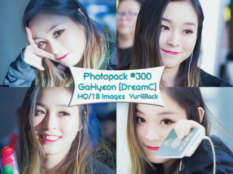 Photopack #300 - GaHyeon [Dreamcatcher] by YuriBlack