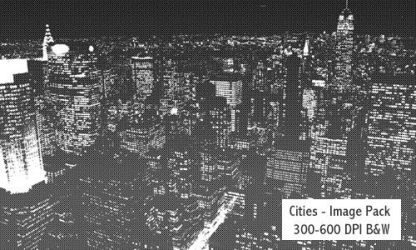 Cities - 300-600DPI by screentones