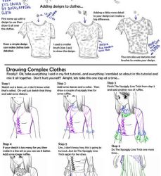 Drawing Clothes And Folds Two by Crysa