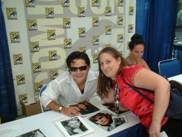 Me and Corey Feldman by Yuffie1972