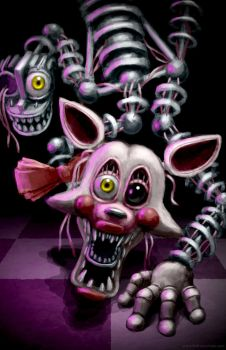 FNaF: Mangle by BritneyPringle