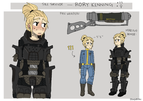 (Fallout) RORY by pand0ran