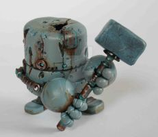 Rusty Robots S1 Hammerboy by SpaceCowSmith
