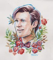 11th Doctor by ermitanyongpalits