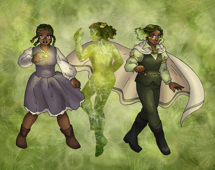Magical Holly Transformation by ErinPtah