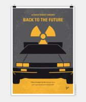 No183-My-Back-to-the-Future-minimal-movie-post by Chungkong