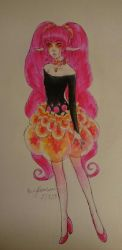 Nellon Neon Pink by ParanoidEmily